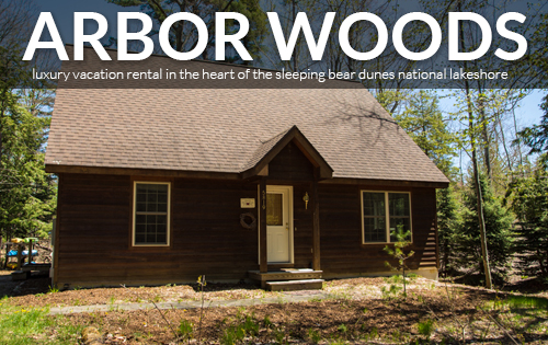 ARBOR WOODS - Luxury Vacation Rental in Leelanau County Michigan